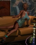 Kyndra Pose #16 - In The Hookah Lounge