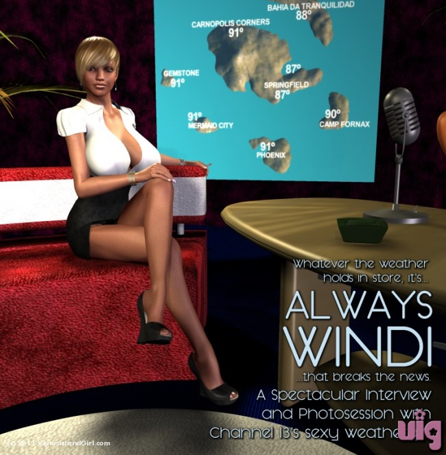 Always Windi! The Exclusive Racy Photoshoot
