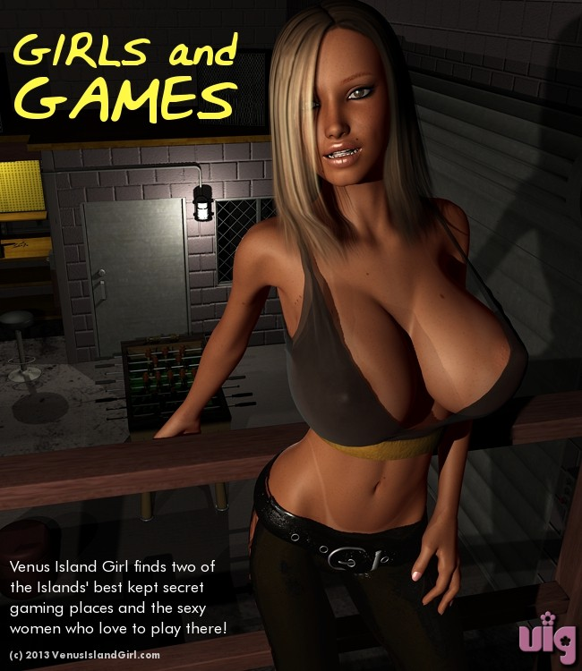 Girls And Games Cover