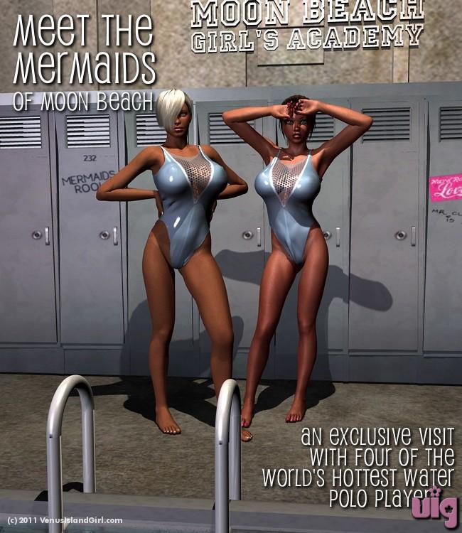 Venus Island Girl Page