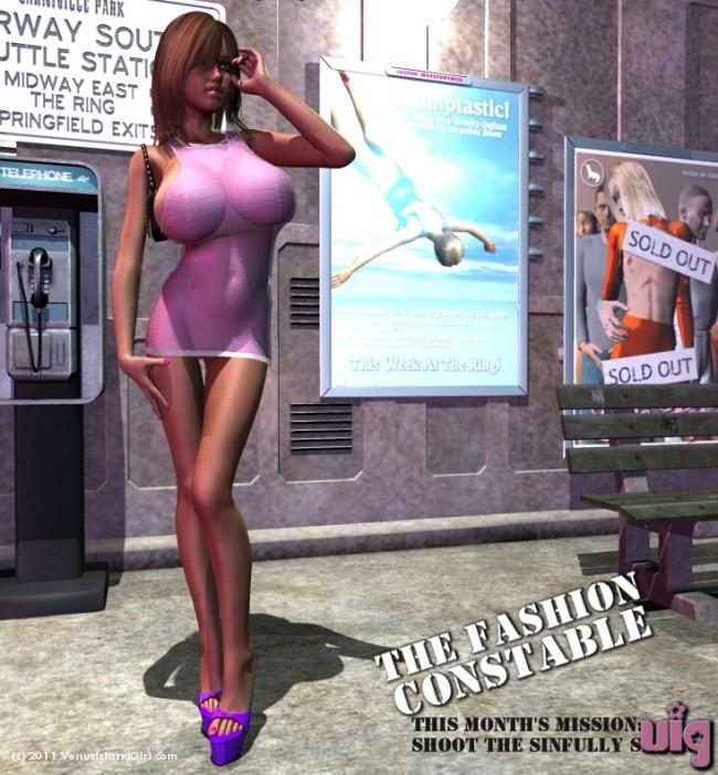 Fashion Constable Catches Genna Bonducci