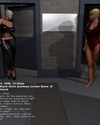 008: Iris In The Locker Room