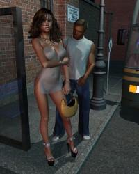Princess At The Bus Stop - 4