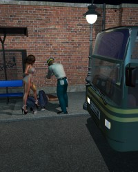 Princess At The Bus Stop - 9