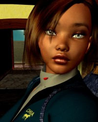 Venus Island Girl