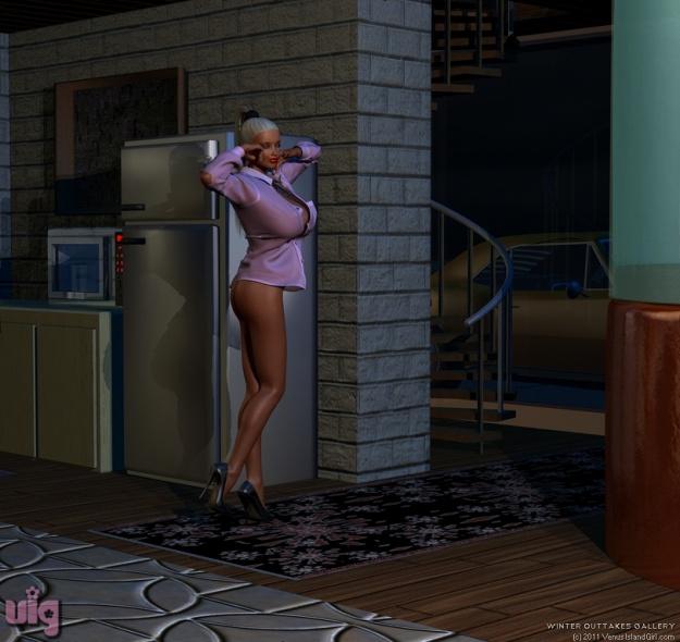 Andie At Home 1
